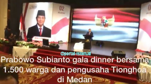 Disambut Ribuan Tionghoa Medan, Prabowo: Saya Perjuangkan Hak Rakyat, Apapun Etnis dan Agamanya