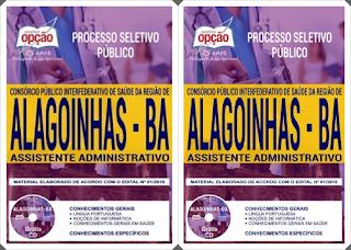 Apostila concurso Policlínica Alagoinhas 2018 - Assistente Administrativo