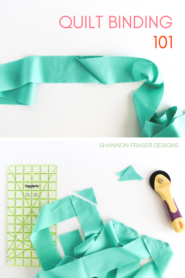 Quilt Binding Tutorial Part 1 one of the Best of 2018 for Shannon Fraser Designs