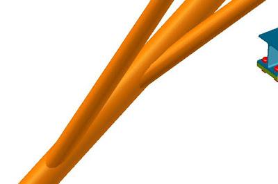 Gia công chế tạo ống nối chéo, ống côn chéo
