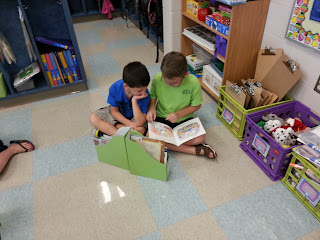 Daily 5- Read to Someone- introducing the first few weeks of school