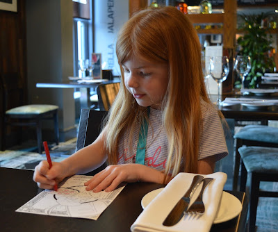 Family Dining at Fratello's, Jesmond - A review - kids menu