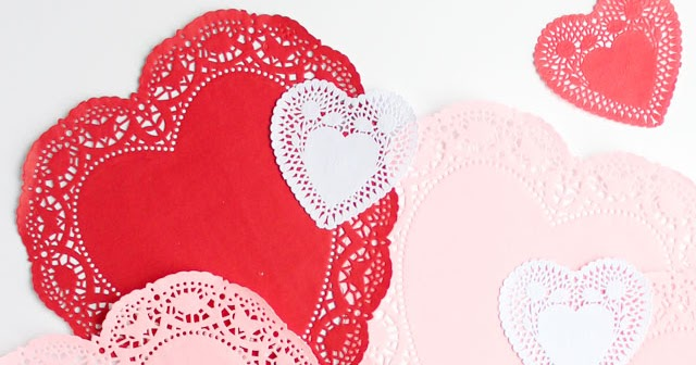 10 Clever Ways To Use Paper Heart Doilies Design Improvised