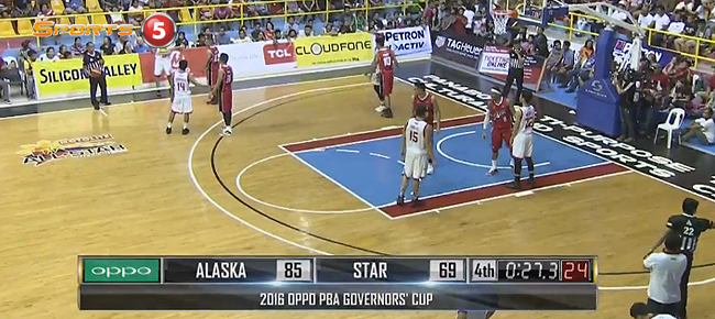 Alaska def. Star Hotshots, 85-69 (REPLAY VIDEO) August 20