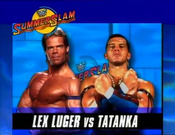 WWF / WWE - Summerslam 1994: Lex Luger vs. Tatanka
