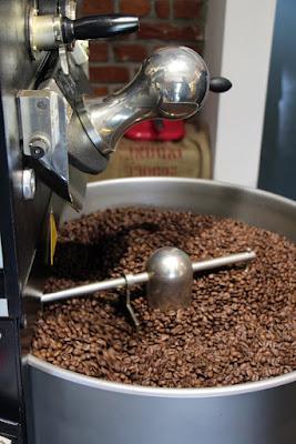 Kaffeeröstung im Kaffeesack, Sasbach