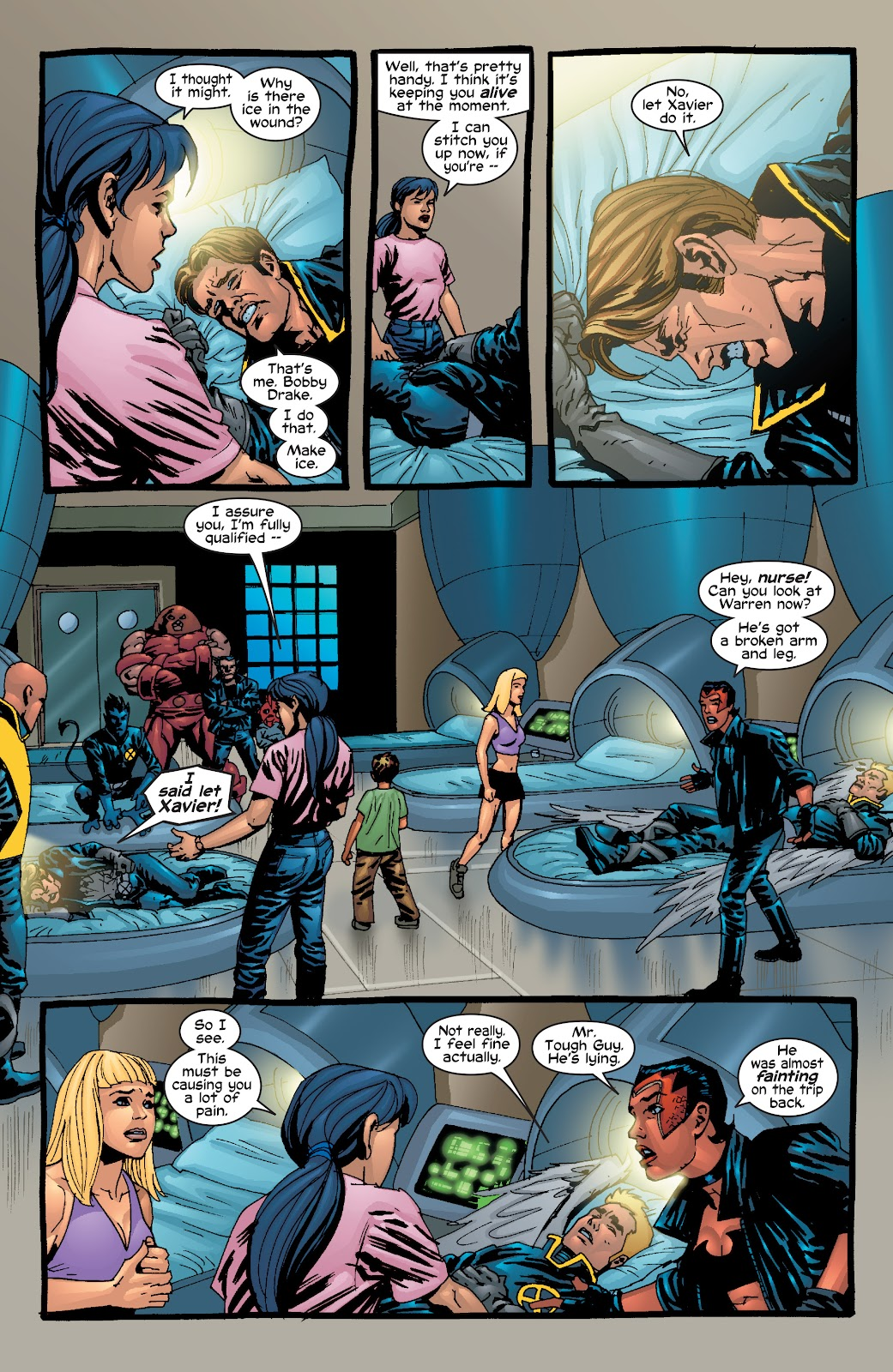 Read online X-Men: Unstoppable comic -  Issue # TPB (Part 1) - 82