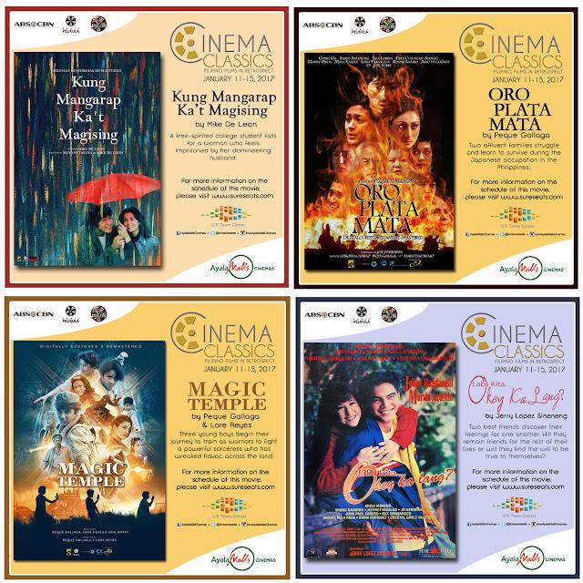 Filipino Cinema Classic Films | Kung Mangarap Ka't Magising | Oro Plata Mata | Magic Temple | Labs Kita Okay Ka Lang