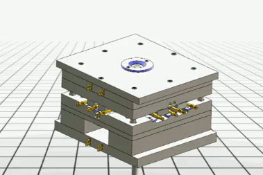 Solidworks Simulation Injection Mold Cycle Solidworks