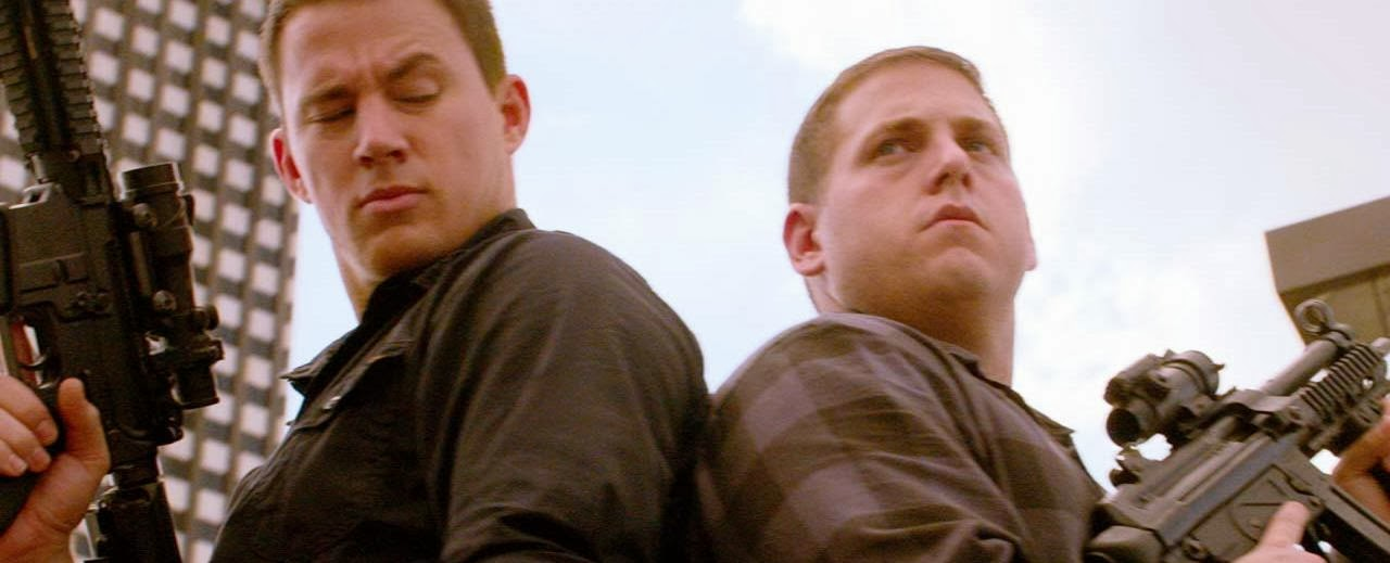 Final alternativo no segundo trailer de ANJOS DA LEI 2, com Channing Tatum e Jonah Hill