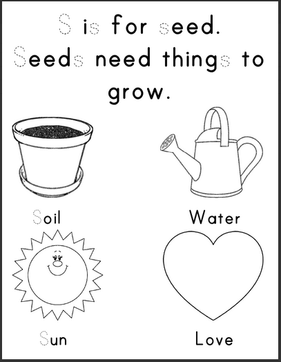 One Organic Mama: Seed Planting +Printables!
