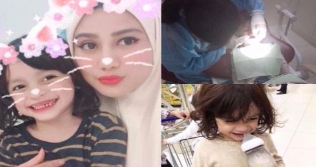 Gigi Anak Wawa Zainal, Attar Terpaksa Dicabut Semua
