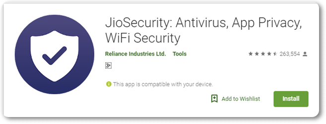 Jio Security Antivirus