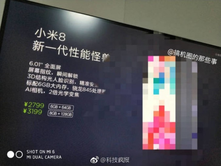 Xiaomi Mi 8 - Un Tope De Gama Que Costará 440 Euros