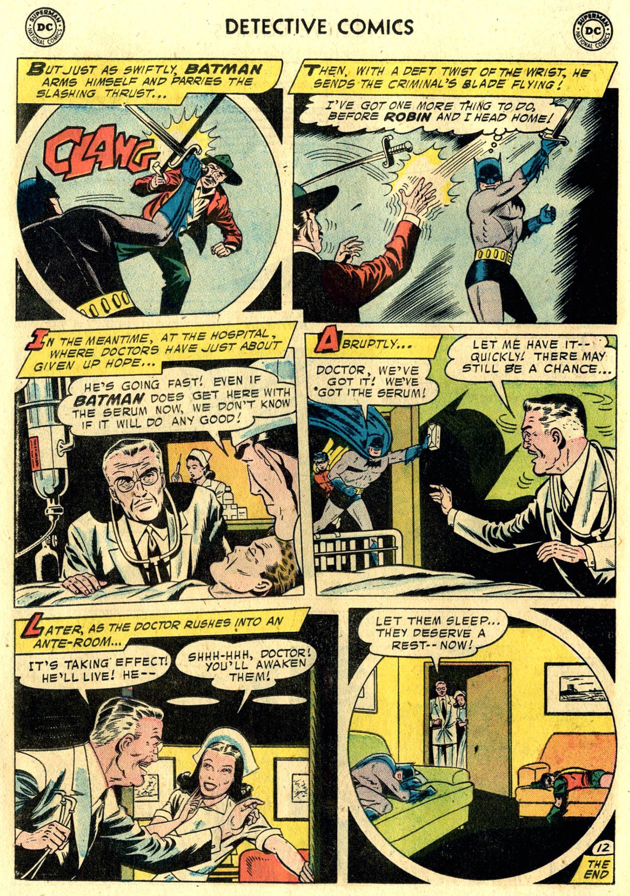 Read online Detective Comics (1937) comic -  Issue #248 - 14