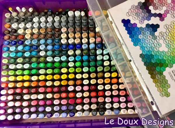 Follow Le Doux Designs on Facebook
