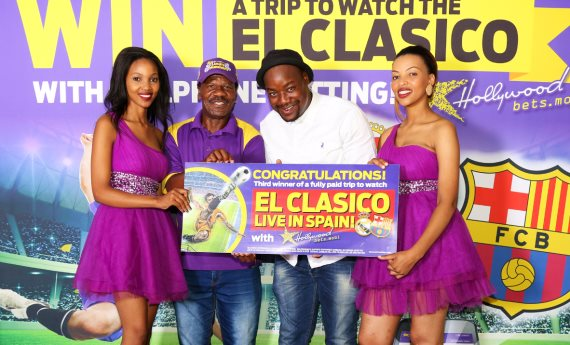 Matshidiso Maja - El Clasico 3rd Winner - Hollywoodbets Competition