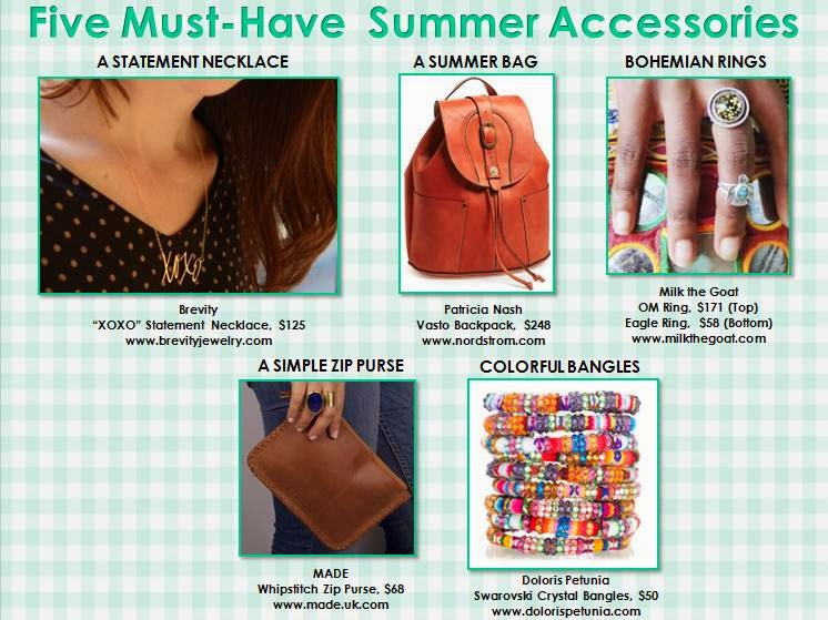 fashion accessories for summer