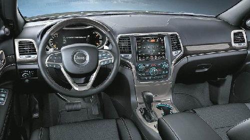 2017 Jeep Grand Cherokee Dimensions
