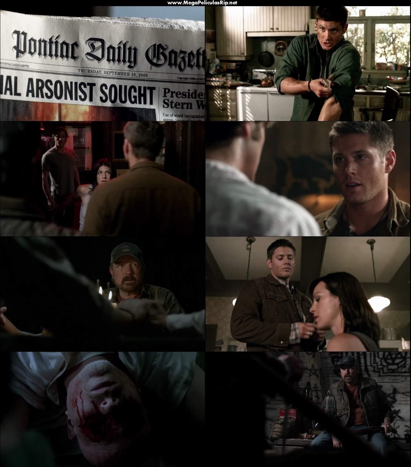 Supernatural Temporada 4 720p Latino