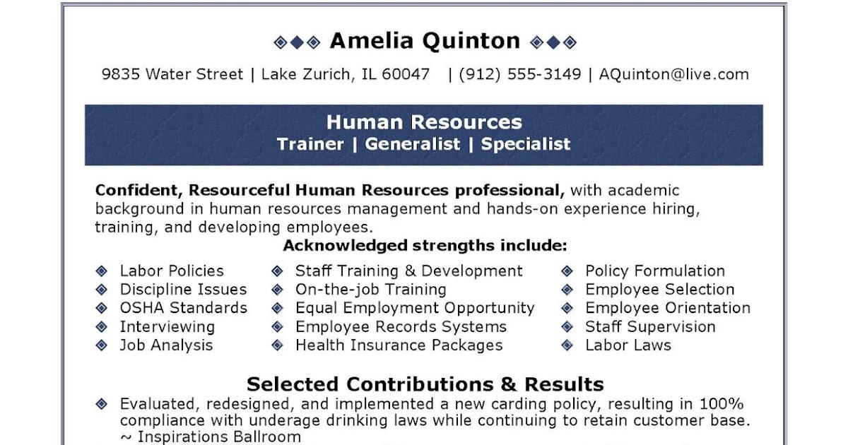 Order resume online quarters