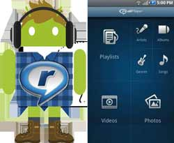 Aplikasi RealPlayer For Android