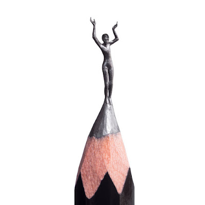 Pencil Micro Sculpture