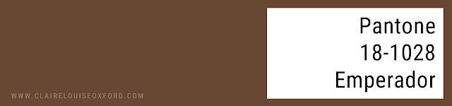 Colori Pantone 2018 Primavera - PANTONE 18-1028 Emperador