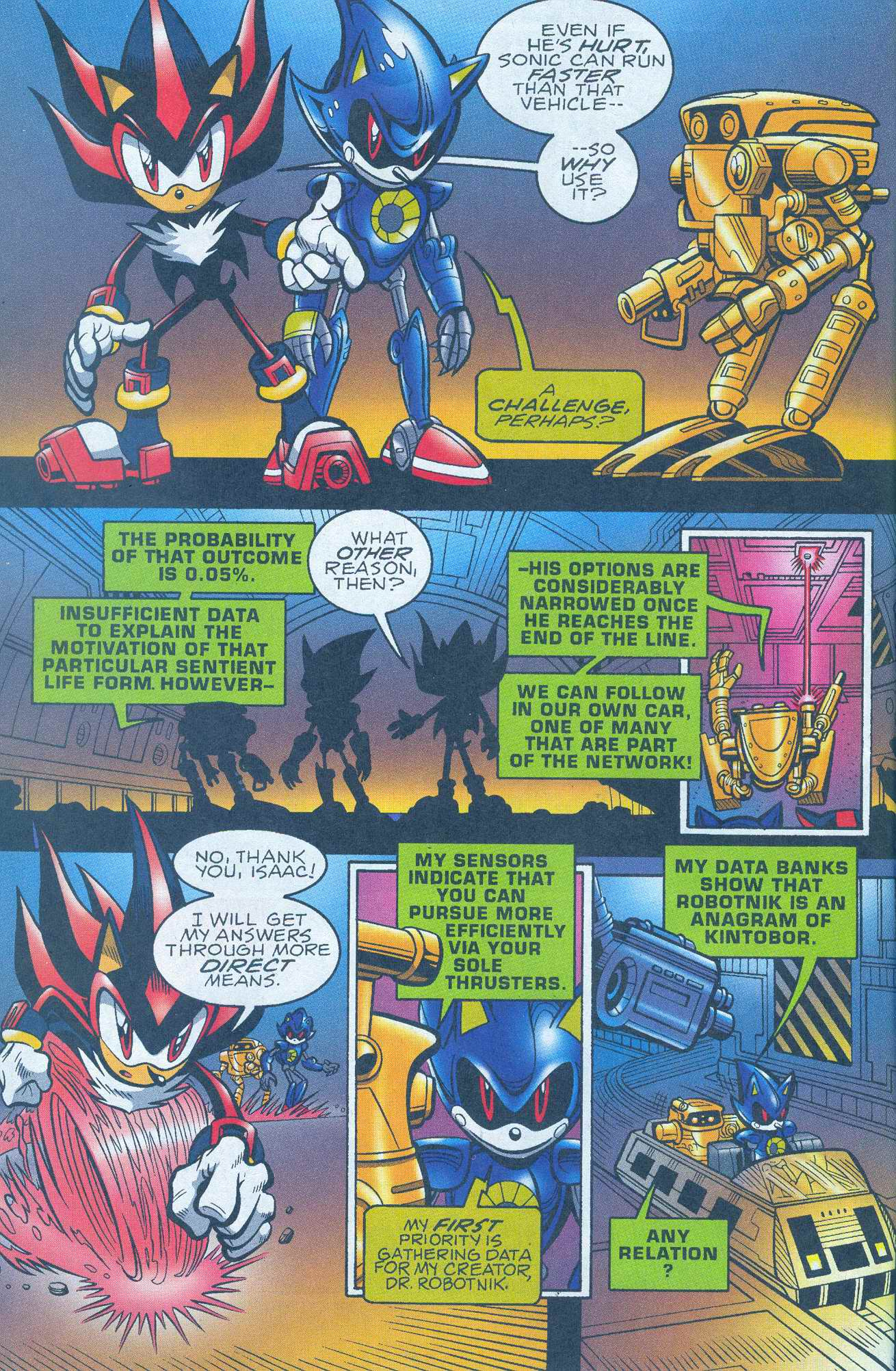 Read online Sonic The Hedgehog comic -  Issue #148 - 5