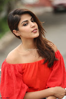 Rhea Chakraborty in Red Crop Top and Denim Shorts Spicy Pics ~  Exclusive 347.JPG