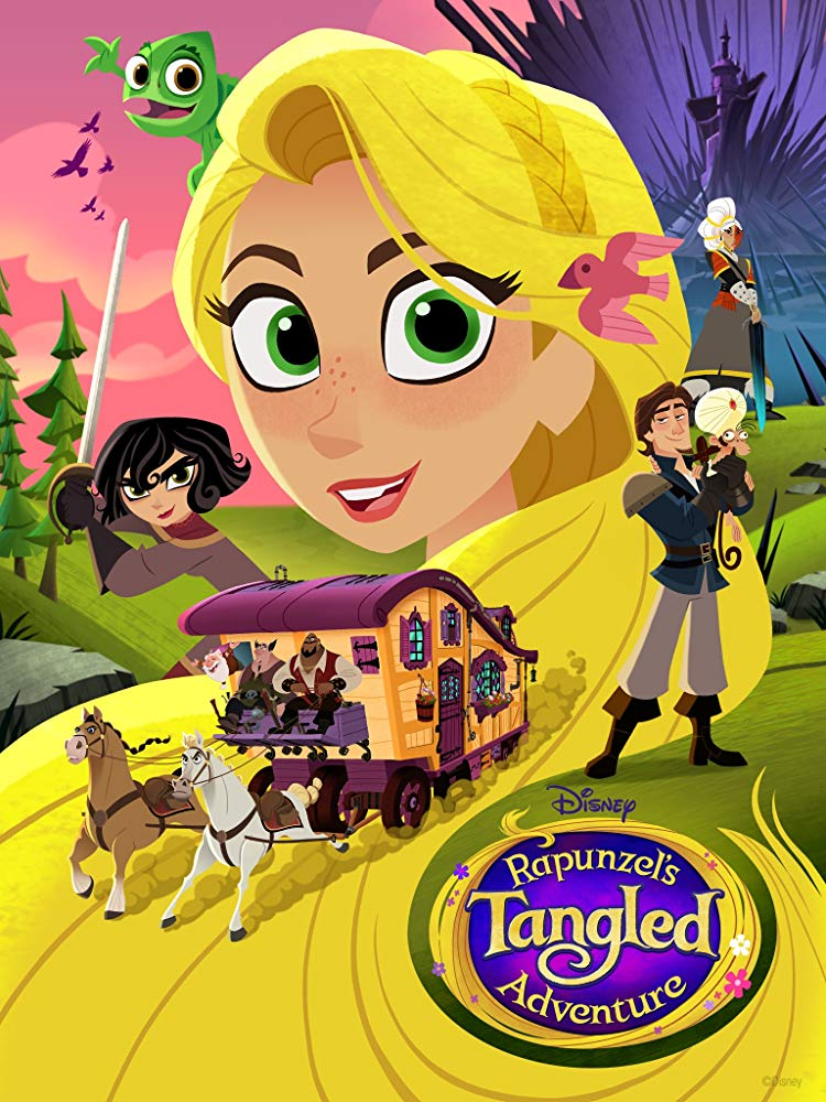 Rapunzel's Tangled Adventure 2017 TV Series Season 1-2 480p & 720p