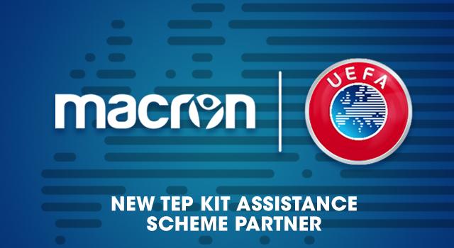 Macron llegó a un acuerdo con la UEFA para vestir a selecciones menores