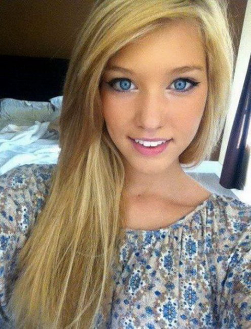 Chicas Rubias Con Ojos Azules Imagui