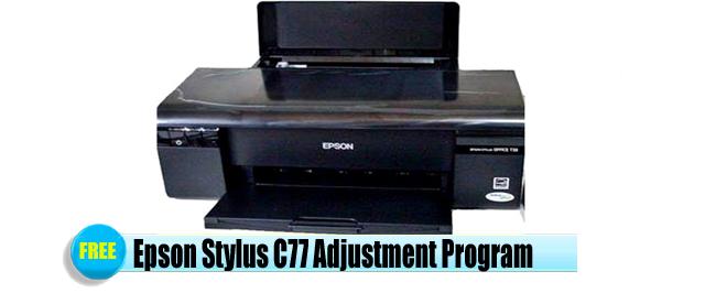 Epson Stylus C77 Adjustment Program
