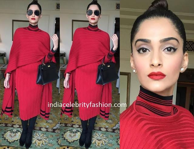 Sonam Kapoor in Fendi Outfit
