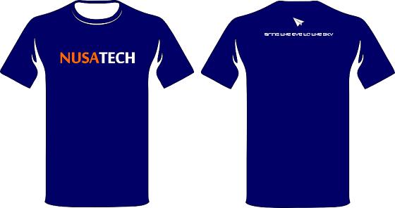 Branding Kaos UAV Nusatech