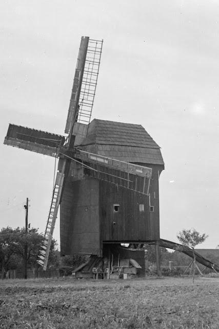 Windmühle Dölzig - ca. 1930-1940