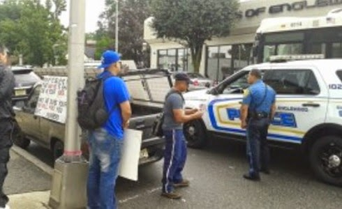cristiano intervenido por la policiía