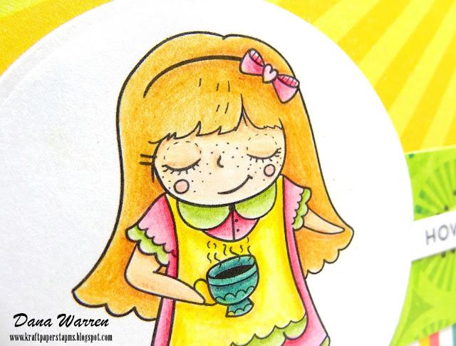 Dana Warren - Kraft Paper Stamps - LePetite Market