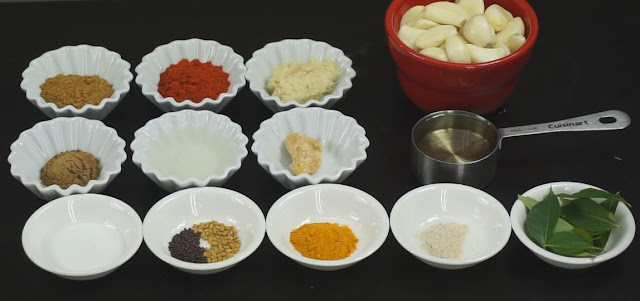 Ingredients-for-Garlic-Pickle