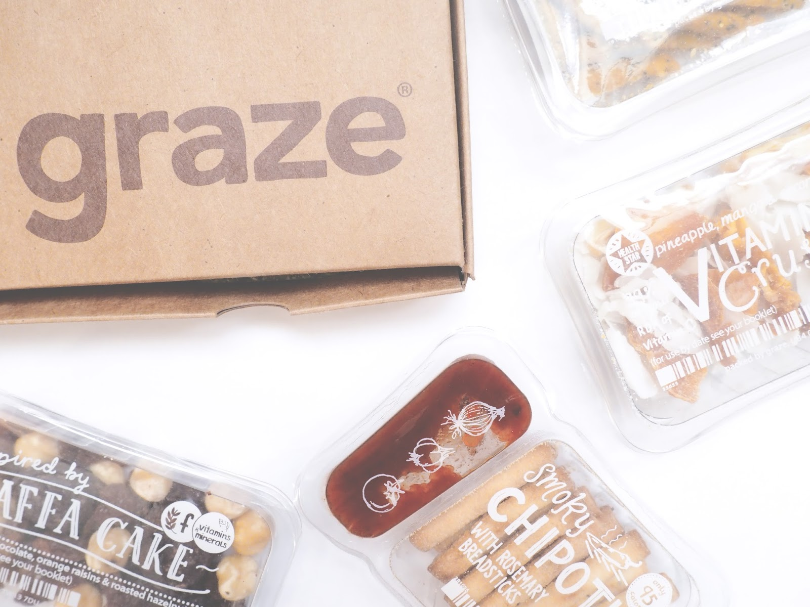 Snacking Healthy Graze Box