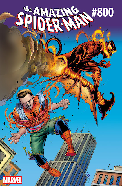 THE AMAZING SPIDER-MAN #800: GO DOWN SWINGING
