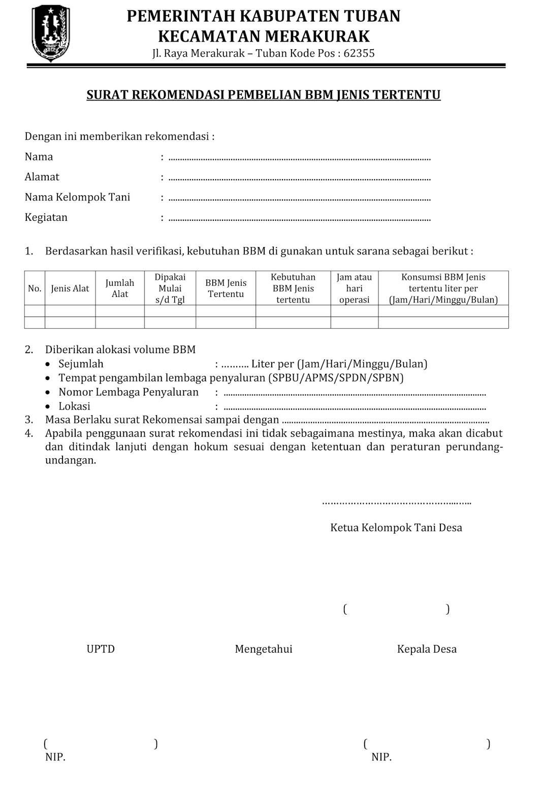 Contoh Surat Operasi Suratmenyuratnet