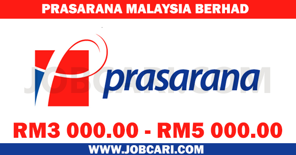 JOBS AT PRASARANA