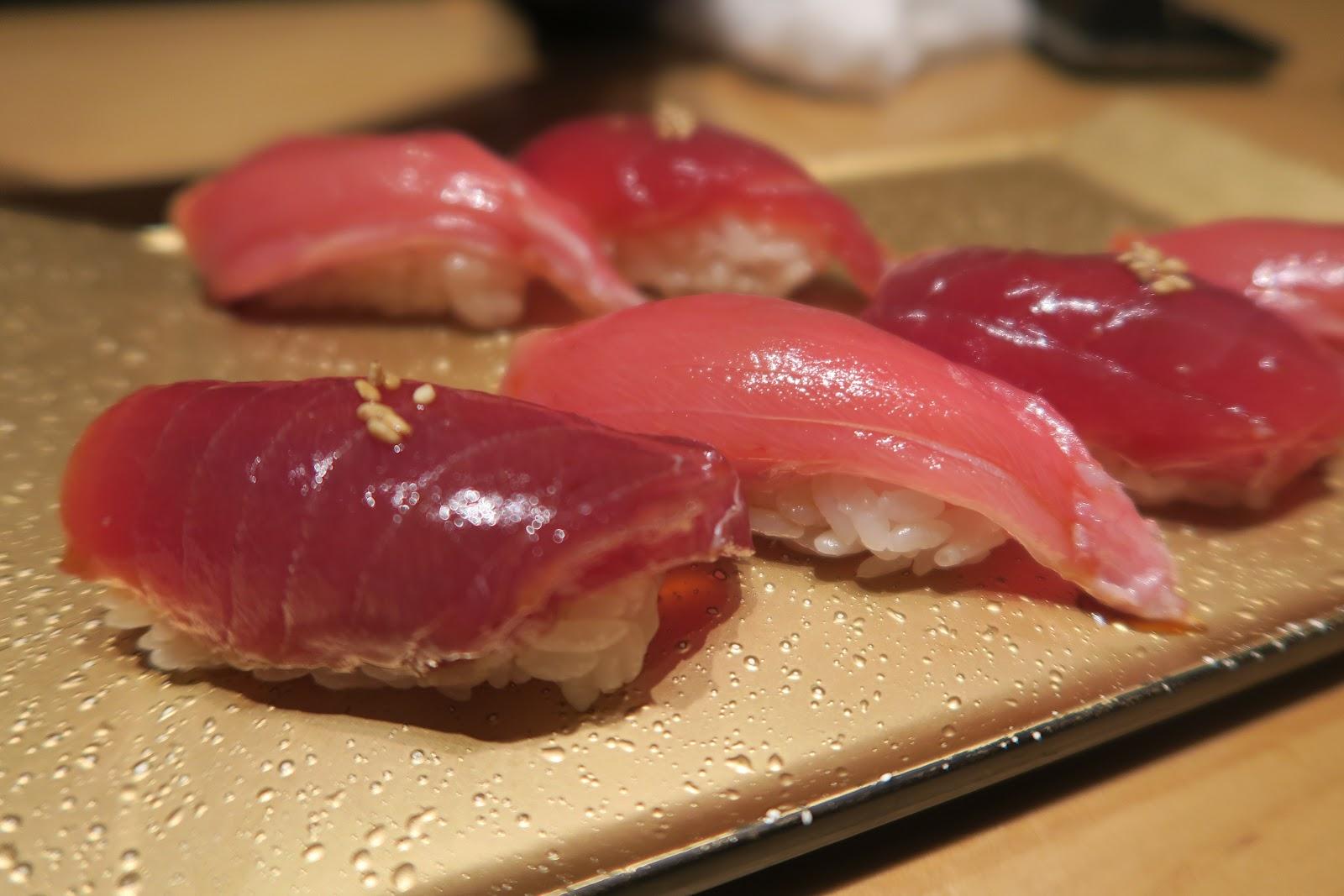 sushi nigiri tokyo ten sushi