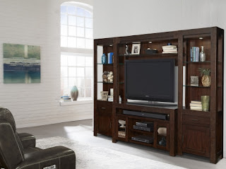 The Parker House Roanoke Collection Features Entertainment Wall Unit All Made From Poplar Solids And New Zealand Pine Veneers
