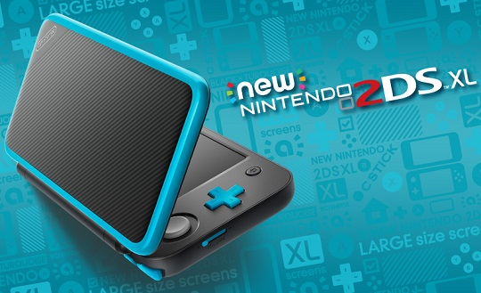 Nintendo Set to Release New 2DS XL Portable System in July