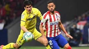 اتلتيكو مدريد يعتلي للمركز الثالث في الدوري الاسباني بعد الفوز على فياريال