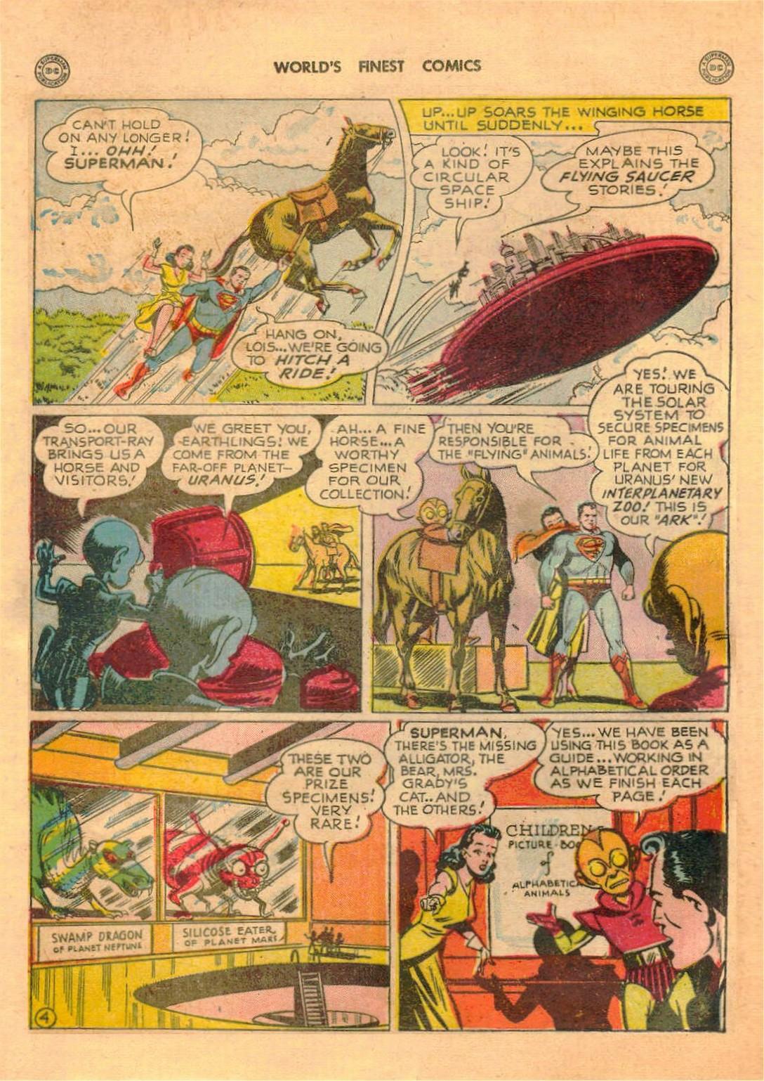 Read online World's Finest Comics comic -  Issue #42 - 6