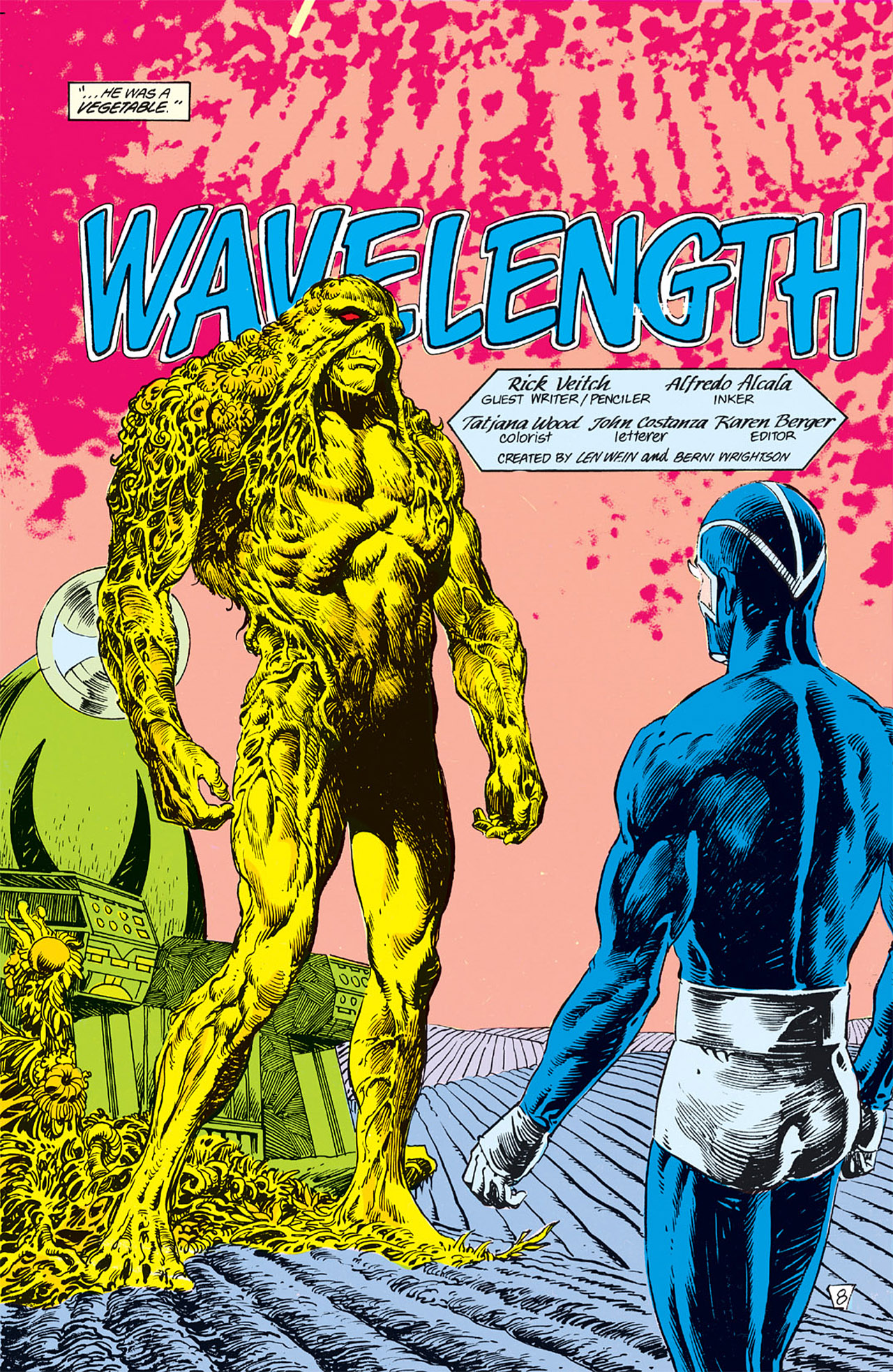 Swamp Thing (1982) Issue #62 #70 - English 8